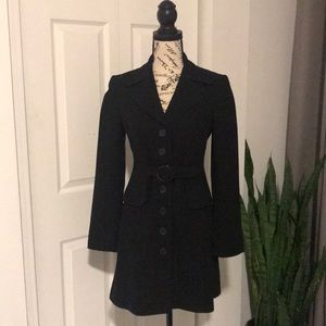 BCBG Maxazria Black long jacket (used)